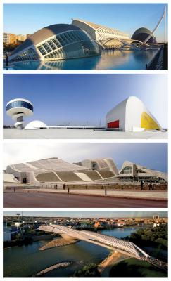 Spain's unrelenting belief in the potential economic power of pursuing iconic cultural facilities was without peer. These white elephants have left a legacy of urbanistic and fiscal burden. Credit: Courtesy of Christopher Marcinkoski