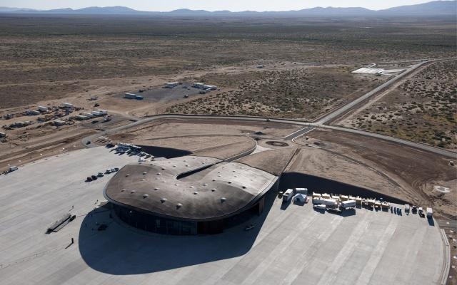 Figure 1. Foster and Partners, New Mexico Spaceport Authority Building, 2006–14.
