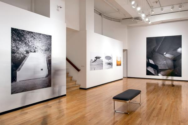 Fig. 3 Installation view, Grace of Intention: Photography, Architecture and the Monument.