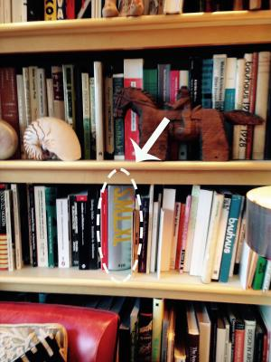 Peter Papademetriou: My copy of S,M,L,XL is on a shelf of my Library - where it actually physically fits - amongst other