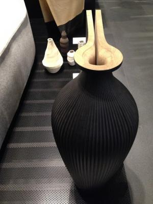 Zaha Hadid Vase from Sempering, curated by Cino Zucchi & Luisa Collina © Naomi Frangos