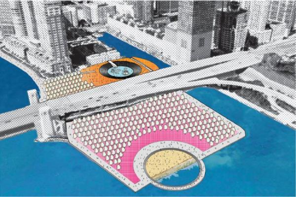 Figure 6.1, p. 178. Orange Is the New Green: High-Tech Hot Tub, aerial perspective, 2014