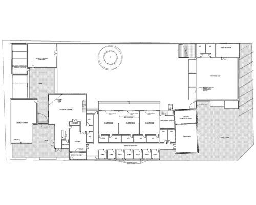 Figure 20: First Floor Plan. Credit: David Rifkind and Will Caramella.