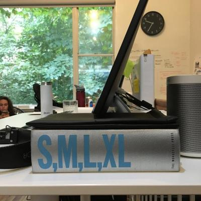 @kyhoven My #smlxl actually is on my desk