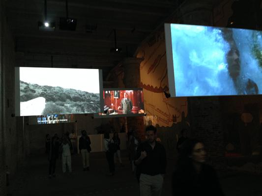From the Monditalia exhibition at the Arsenale. It presents