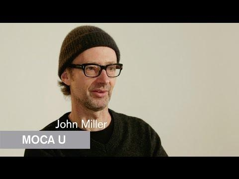 Artist, writer and musician John Miller met Mike Kelley as graduate students at the California Institute of the Arts (CalArts). Miller explains how the concepts of school and education influenced Kelley's work, particularly